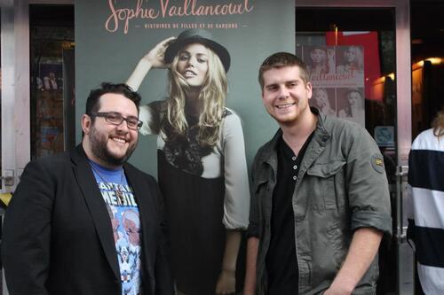 Jason était au lancement de l'album de Sophie Vaillancourt ce soir, 2 octobre