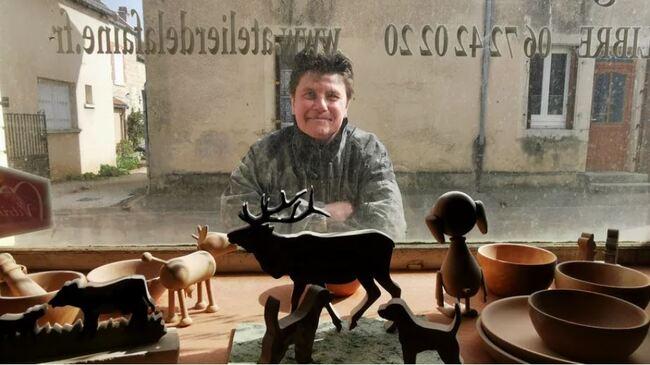 J'ai découvert sur le net une artisane d'art à Châtillon-sur-Seine...