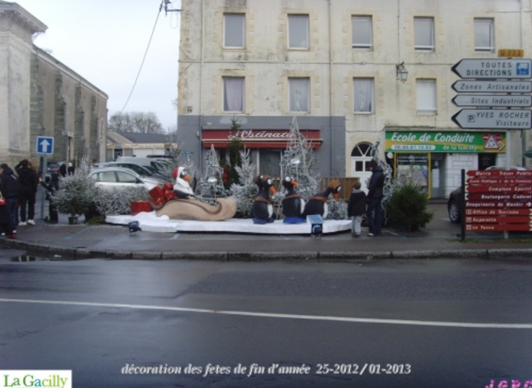 ANIMATIONS LA GACILLY DECEMBRE 2012