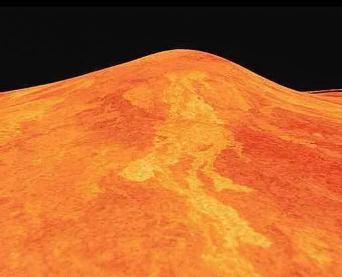 volcan Sif Mons sur Venus