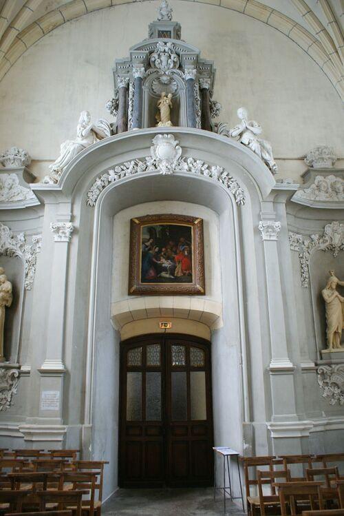 Saint Aubin de Luigné église