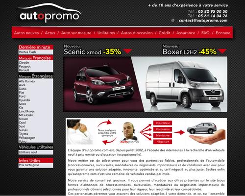 Home Page autopromo.com