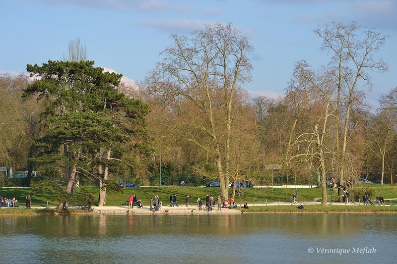 Le Lac Daumesnil, bois de Vincennes, Paris 12ème arrondissement