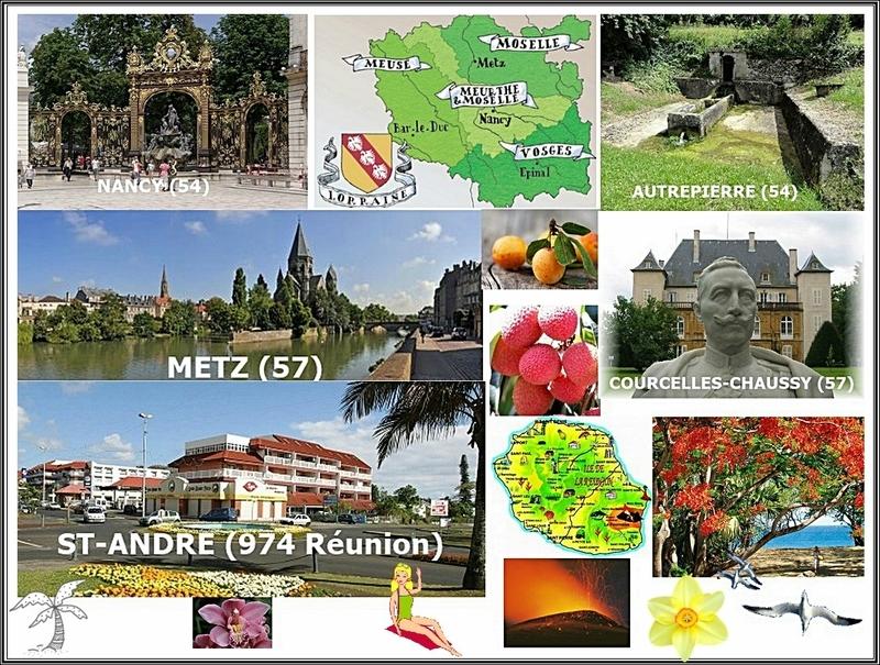 Je me présente et vous parle de moi et de mon parcours de la Lorraine à la Réunion...
