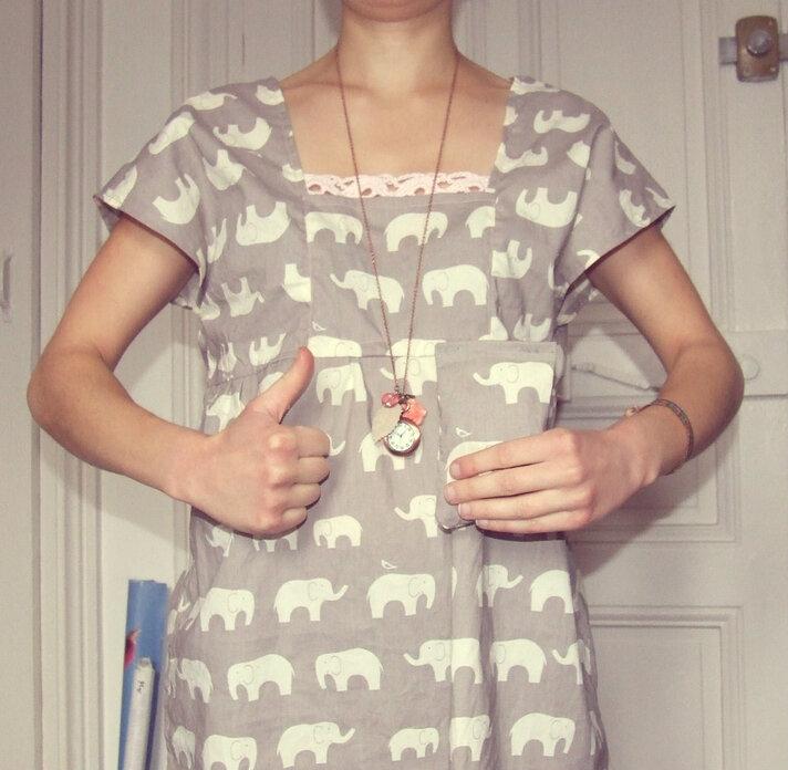 La tunique éléphant