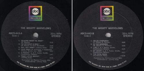THE MARVELOWS / MIGHTY MARVELOWS