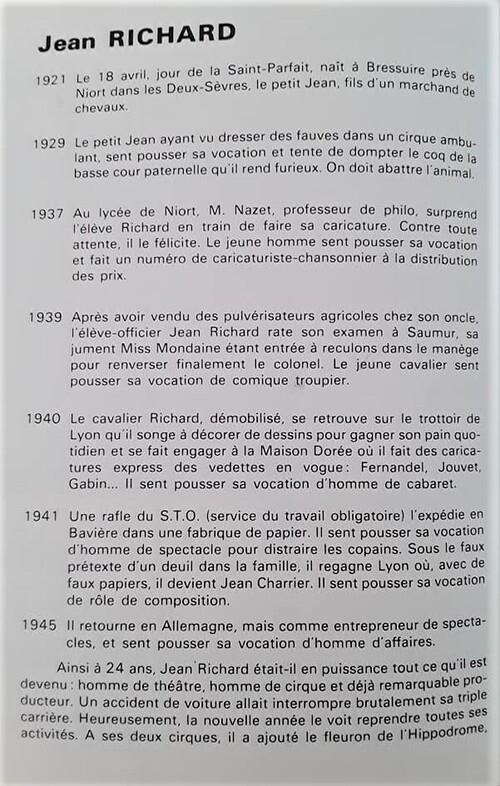 """programme du """" médecin malgré lui""""  ( archives Christian Laurent)"""