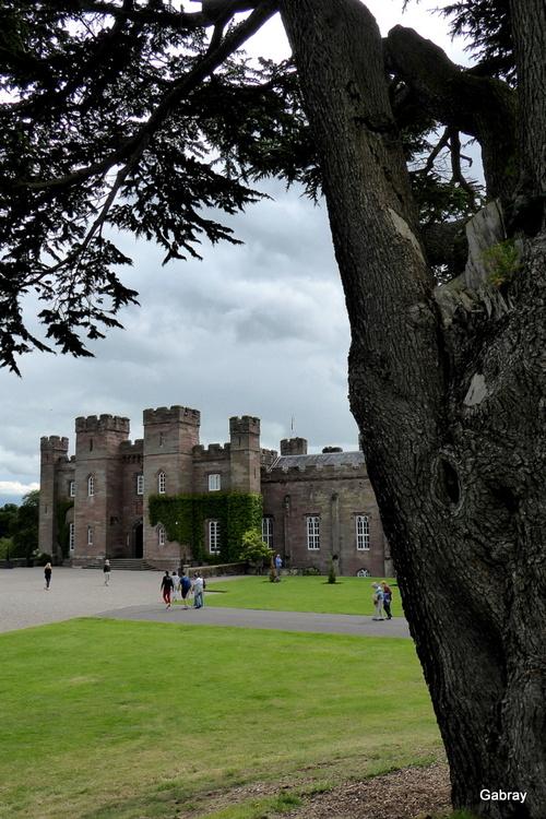 Écosse: château de Scone