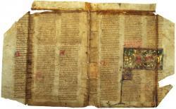 Fragment du Roman de Tristan par Chrétien de Troyes - 1300-1310