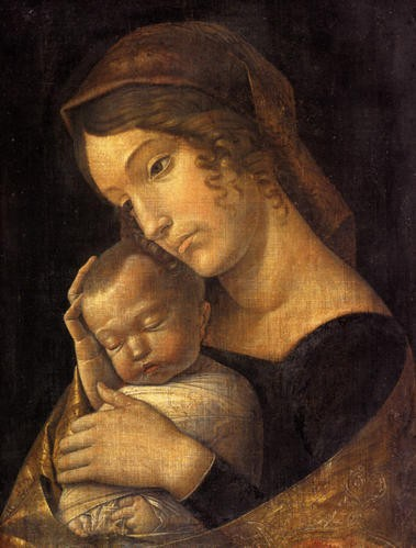 mantegna madonna sleeping