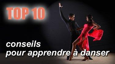 Top 10 des conseils pour apprendre à danser