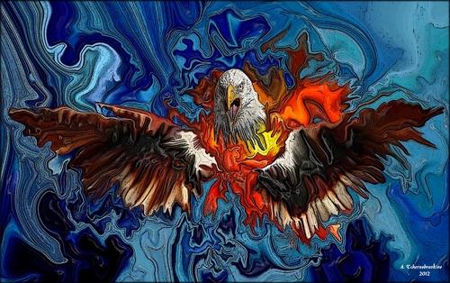 L'aigle de feu