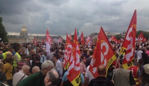 27 juin, des milliers à Paris et en province contre la casse du code du travail : une première forte réplique (FSC 27/06/2017)