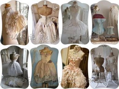 Cartonnettes - Buste et Mannequin habillé !