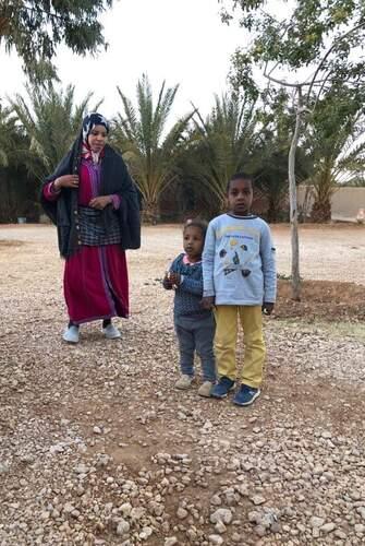 Hourya l'épouse d'Ahmad, Inas et Youssef