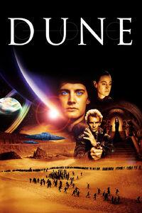 """Dune (1984) : La saga du guerrier intergalactique Paul Atréides et de son ascension messianique pour conduire son peuple luttant pour sa survie. Le jeune héros mène ses guerriers contre un baron maléfique et tente de mettre fin à un trafic d'""""épices"""" à l'échelle de la galaxie. ..... ----- ..... Origine : États-Unis Réalisation : David Lynch Durée : 02h20 Acteur(s) : Kyle MacLachlan, Jürgen Prochnow, Francesca Annis, Everett McGill, Sting Genre : Fantastique, Science-Fiction, Action Date de sortie : 1984"""