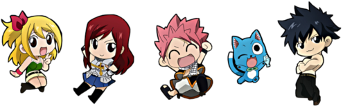 Fairy Tail chibis!!^^