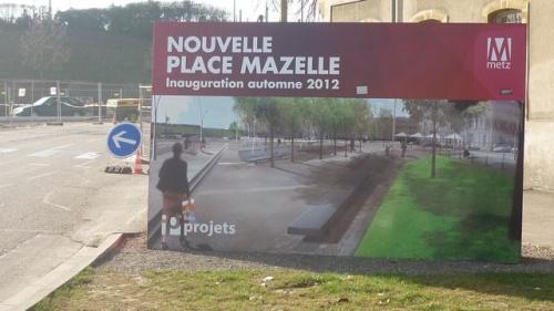 Nouvelle place Mazelle