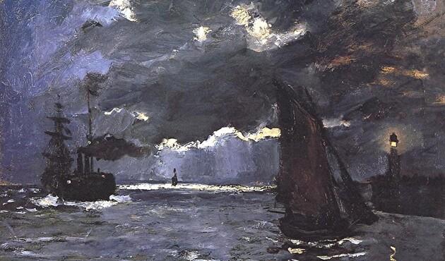Monet /8/  1866 : femmes au jardin