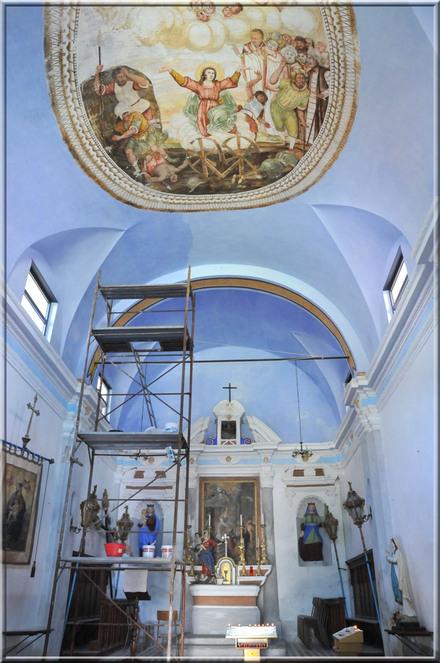 Italie, les 5 Terres : Corniglia, l'oratoire Santa Caterina
