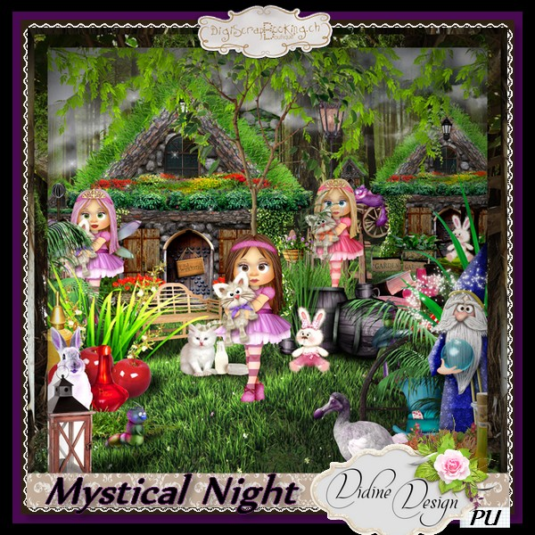Mystical Night by Didine Designs