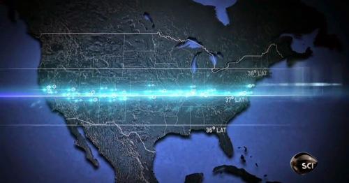 37ème Parallèle- de nombreux phénomènes paranormaux