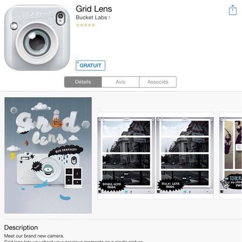 [appli] Gride Lens