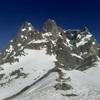 Du col de Peyreget (2320 m), le pic du Midi d'Ossau