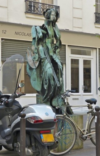 Arman Venus sculpture face