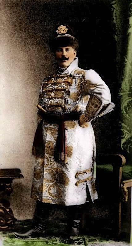 Prince Orlov at the Winter Palace Costume Ball of 1903.: