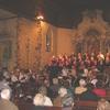 La Chorale et l'Harmonie qui interprètent Verdi