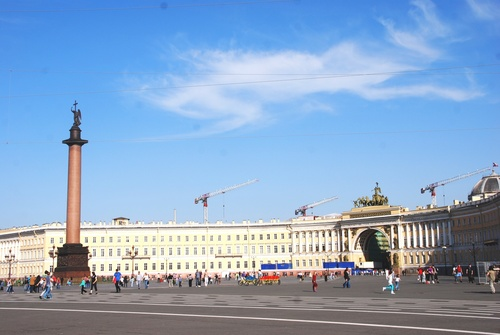Le Palais d'Hiver à Saint Pétersbourg (photos)