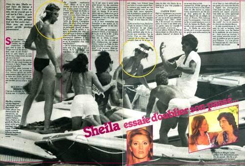 Printemps 1980 / Sheila et Philip...