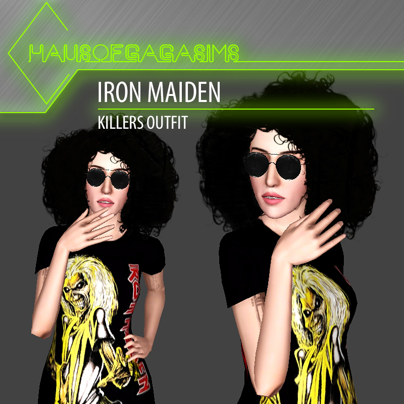 IRON MAIDEN KILLERS OUTFIT