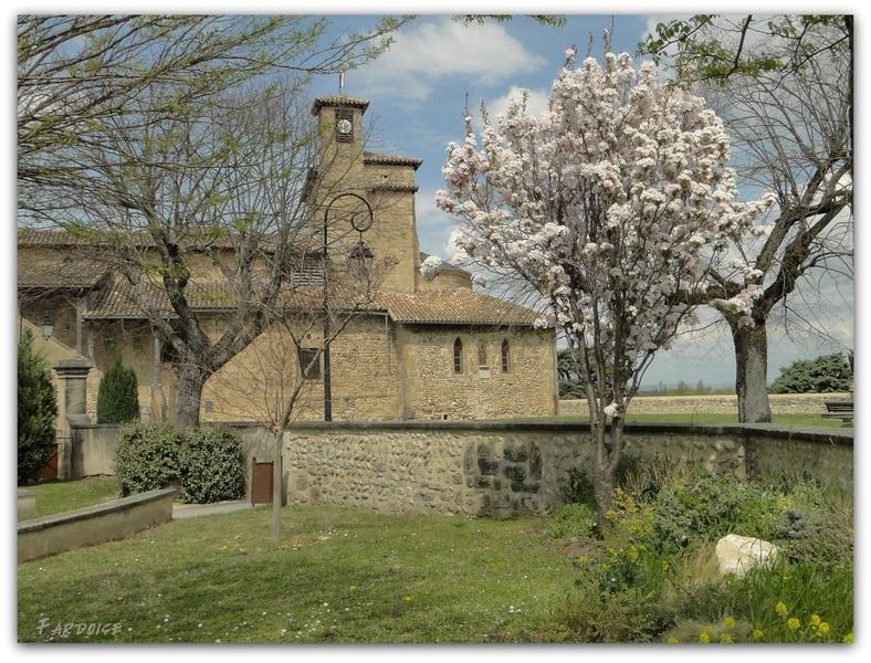 Eglise Saint Didier d'Alixan