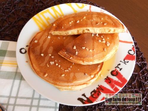 Pancakes à la confiture de lait