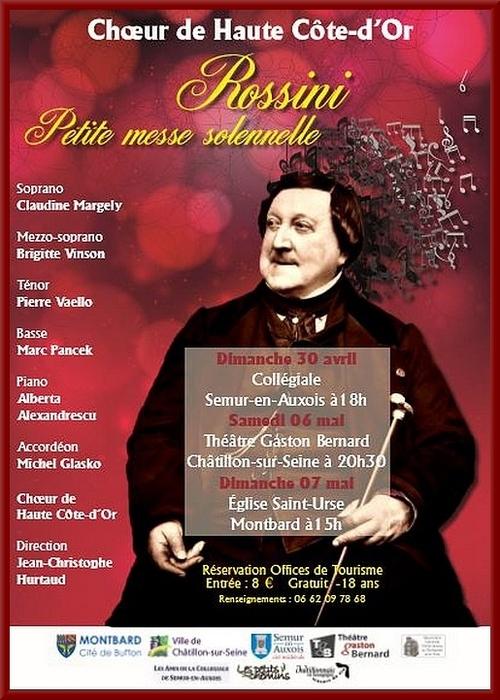 Concerts du Choeur de Haute Côte d'Or