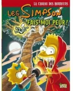 Couverture de Les Simpson - La cabane des horreurs, Tome 1 : Fais moi peur !