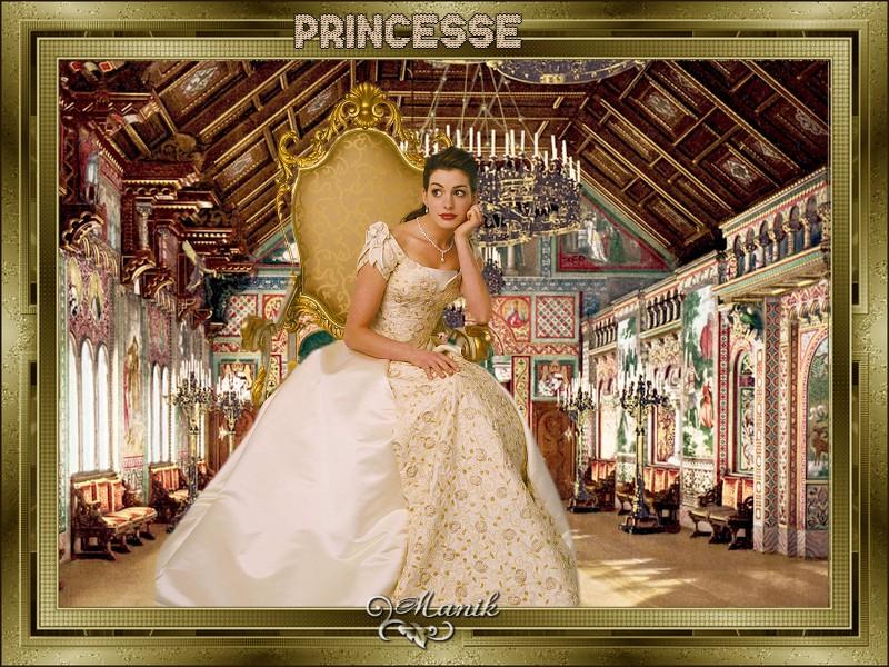 Défi princesse pour mon amie Marjolaine ,