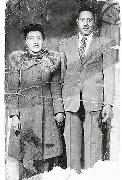 Henrietta et son mari, Day, cultivateur de coton dans les années 40. (DR)