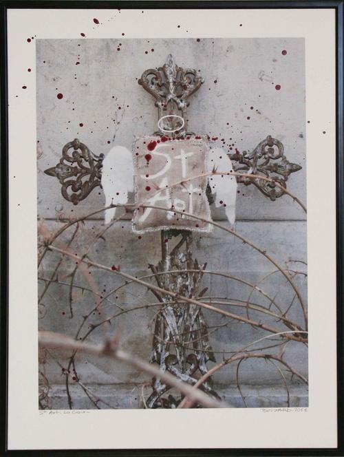 St Art - La Croix- 30x40 cm-2011 lgt
