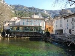 Trail de Fontaine de Vaucluse - Dimanche 19 février 2012