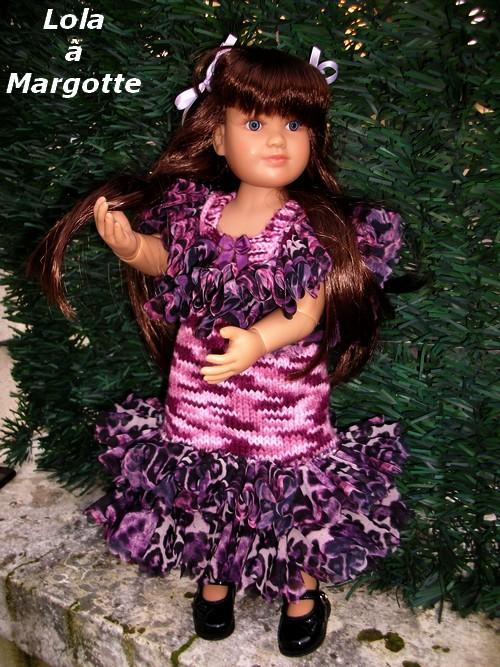 Une robe pour ma Princesse Lola !