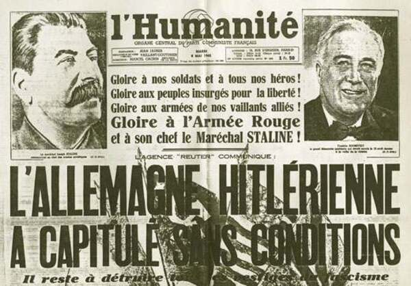 8 mai 1945 : signature de l'armistice de la Seconde Guerre Mondiale