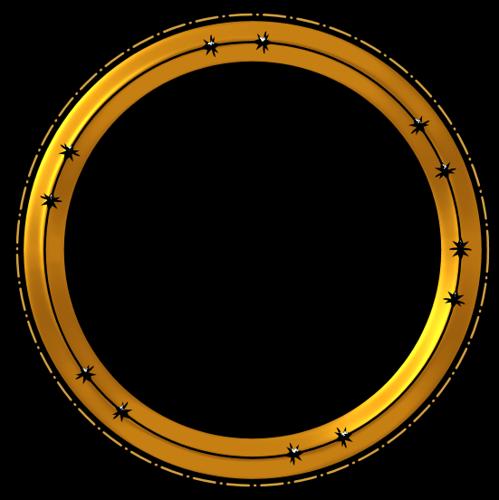 Cadres Ronds Série 8