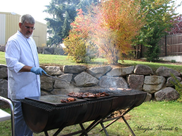Beblenheim (68) : Barbecue