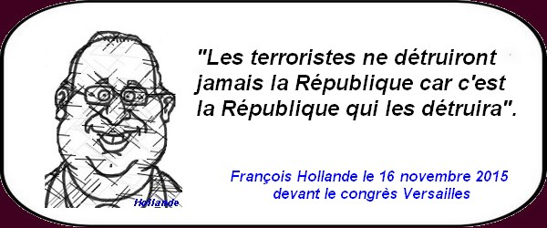 citation de Hollande