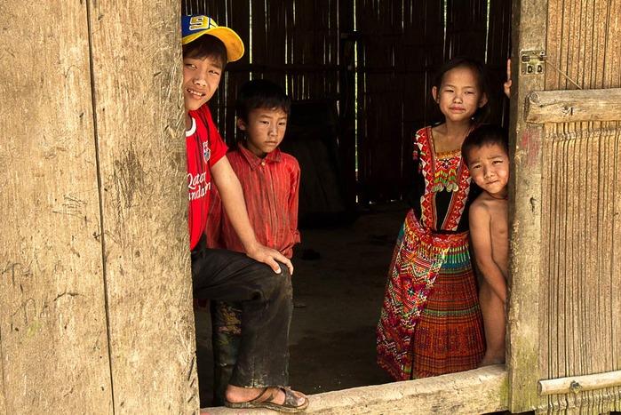 Enfants de hoang Su Phi