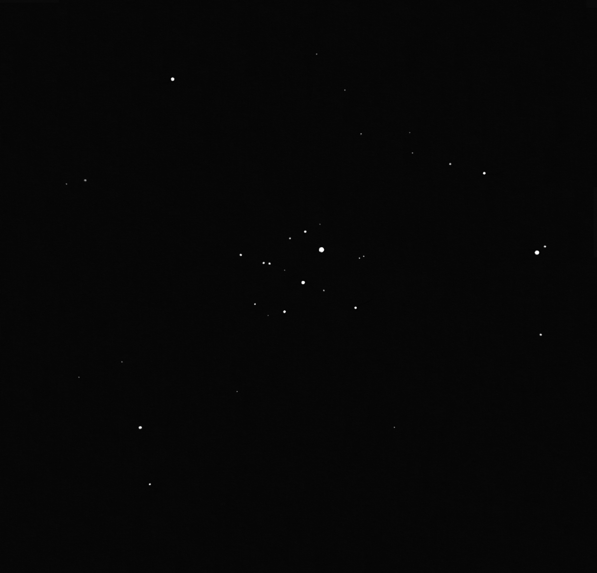 IC 2395 open cluster