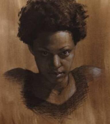 Dessyn et peinture - vidéo 2373 : Comment dessiner un portrait au fusain et à la pierre blanche ?